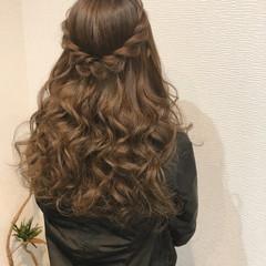 ヘアアレンジ フェミニン ねじり 結婚式 ヘアスタイルや髪型の写真・画像