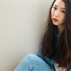 ピュア 春 黒髪 外国人風 ヘアスタイルや髪型の写真・画像