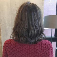 ミディアム ヘアアレンジ 結婚式 オフィス ヘアスタイルや髪型の写真・画像