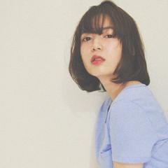 ハイライト パーマ ミディアム 外国人風 ヘアスタイルや髪型の写真・画像