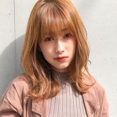 アンニュイほつれヘア ミディアムヘアー ゆるナチュラル ミディアム ヘアスタイルや髪型の写真・画像