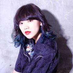 暗髪 ストリート ピュア 黒髪 ヘアスタイルや髪型の写真・画像