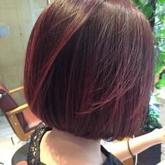 アッシュ 抜け感 ピンク パープル ヘアスタイルや髪型の写真・画像