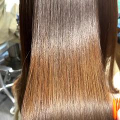 最新トリートメント サイエンスアクア ロング 髪質改善トリートメント ヘアスタイルや髪型の写真・画像