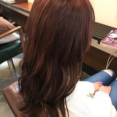 冬 秋 ロング 透明感 ヘアスタイルや髪型の写真・画像