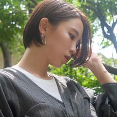 大人ショート 小顔ショート ベリーショート コンサバ ヘアスタイルや髪型の写真・画像