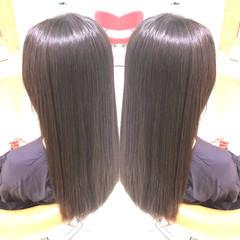 アディクシーカラー 髪質改善トリートメント イルミナカラー ロング ヘアスタイルや髪型の写真・画像