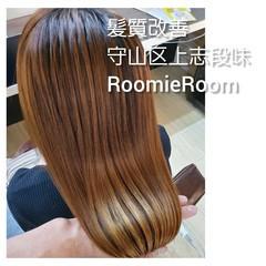 美髪 ナチュラル 髪の病院 セミロング ヘアスタイルや髪型の写真・画像