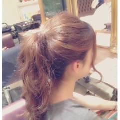 簡単ヘアアレンジ モテ髪 コンサバ ヘアアレンジ ヘアスタイルや髪型の写真・画像