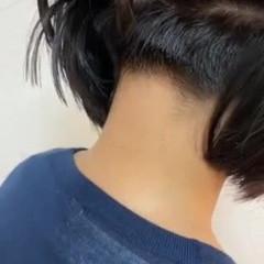 ツーブロック ミニボブ ボブ ショートボブ ヘアスタイルや髪型の写真・画像