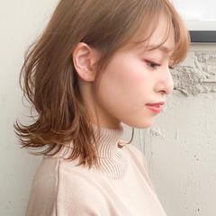 デジタルパーマ コンサバ アンニュイほつれヘア ひし形シルエット ヘアスタイルや髪型の写真・画像
