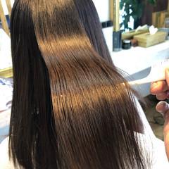 髪質改善トリートメント ロング 髪質改善 ナチュラル ヘアスタイルや髪型の写真・画像