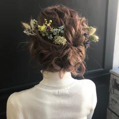 ボブ パーティ 結婚式 ヘアアレンジ ヘアスタイルや髪型の写真・画像