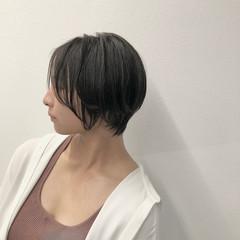 小顔ショート ベリーショート ハンサムショート ショート ヘアスタイルや髪型の写真・画像