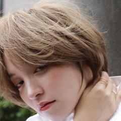 ショートボブ モテボブ ショートヘア ベリーショート ヘアスタイルや髪型の写真・画像