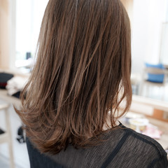 レイヤーカット 似合わせカット 大人可愛い ナチュラル ヘアスタイルや髪型の写真・画像