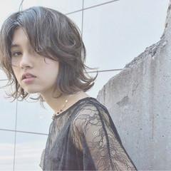 ガーリー 外ハネ かわいい リラックス ヘアスタイルや髪型の写真・画像