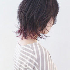 ボブ ストリート ウルフカット マッシュ ヘアスタイルや髪型の写真・画像