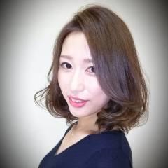 モテ髪 大人かわいい 逆三角形 コンサバ ヘアスタイルや髪型の写真・画像