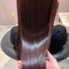 ナチュラル カシスカラー ピンク ラベンダーピンク ヘアスタイルや髪型の写真・画像