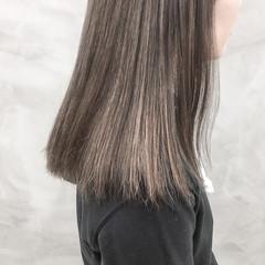 外国人風カラー ダブルカラー ハイトーンカラー ラベンダーグレージュ ヘアスタイルや髪型の写真・画像