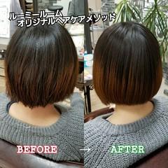 艶髪 トリートメント 名古屋市守山区 髪の病院 ヘアスタイルや髪型の写真・画像