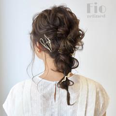 ヘアアレンジ ポニーテールアレンジ 結婚式ヘアアレンジ 結婚式髪型 ヘアスタイルや髪型の写真・画像