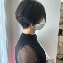 ガーリー ショート インナーカラー ベリーショート ヘアスタイルや髪型の写真・画像