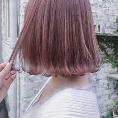 ストリート ボブ 外ハネボブ 外ハネ ヘアスタイルや髪型の写真・画像