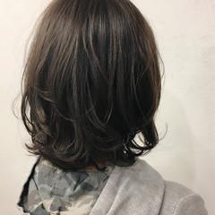 ボブ 大人女子 すっきり 小顔 ヘアスタイルや髪型の写真・画像