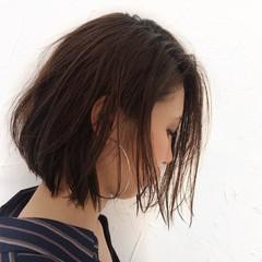 色気 ストリート ショート 耳かけ ヘアスタイルや髪型の写真・画像