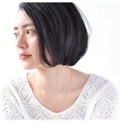 束感 フェミニン 黒髪 大人かわいい ヘアスタイルや髪型の写真・画像