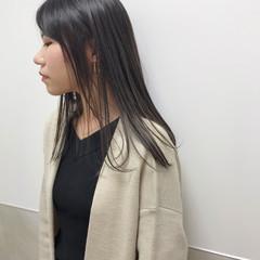 福岡市 ヘアカラー エレガント セミロング ヘアスタイルや髪型の写真・画像