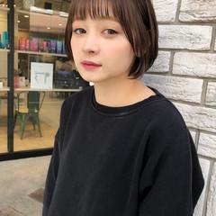 ショートボブ 小顔ショート ショートヘア ミニボブ ヘアスタイルや髪型の写真・画像