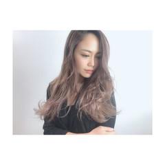 ナチュラル ブリーチカラー デザインカラー 外国人風カラー ヘアスタイルや髪型の写真・画像