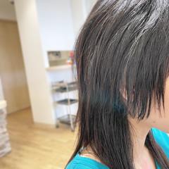 ウルフカット フェミニン ヘアカット ロング ヘアスタイルや髪型の写真・画像
