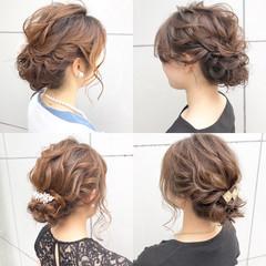 ヘアアレンジ デート ロング 簡単ヘアアレンジ ヘアスタイルや髪型の写真・画像