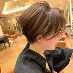ショートボブ ショートヘア ショート 大人ショート ヘアスタイルや髪型の写真・画像
