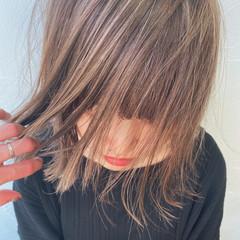 透け感 ブリーチ ブリーチカラー モード ヘアスタイルや髪型の写真・画像