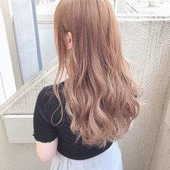 ミルクティーベージュ ゆるふわ ヘアアレンジ ミルクティー ヘアスタイルや髪型の写真・画像