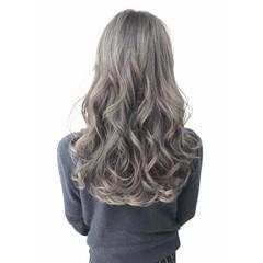 ガーリー 渋谷系 ダブルカラー ロング ヘアスタイルや髪型の写真・画像