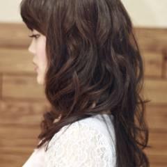 ロング ゆるふわ フェミニン モテ髪 ヘアスタイルや髪型の写真・画像