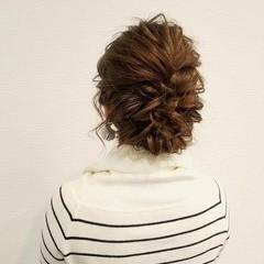 成人式 フェミニン ミディアム アップスタイル ヘアスタイルや髪型の写真・画像