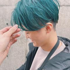 ショートヘア マッシュショート ショート ストリート ヘアスタイルや髪型の写真・画像