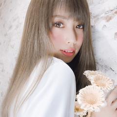 艶髪 フェミニン セミロング 大人可愛い ヘアスタイルや髪型の写真・画像