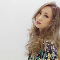 渋谷系 フェミニン 外国人風 ロング ヘアスタイルや髪型の写真・画像