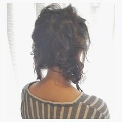 女子会 ミディアム ナチュラル ショート ヘアスタイルや髪型の写真・画像