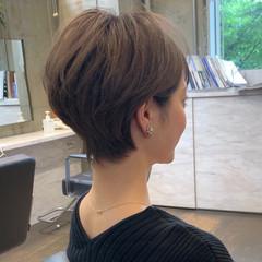 田丸麻紀 フェミニン 40代 ショート ヘアスタイルや髪型の写真・画像
