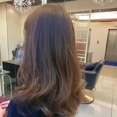 ナチュラル ナチュラルベージュ 大人女子 ヘアカラー ヘアスタイルや髪型の写真・画像