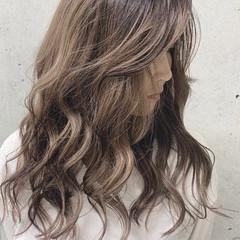 コントラストハイライト 大人ハイライト ストリート ハイライト ヘアスタイルや髪型の写真・画像